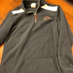 Chicago Bears half zip fleece